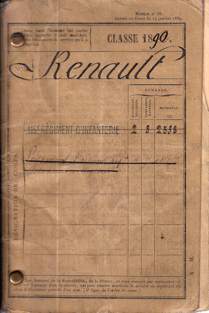 carnet-militaire-marcel-renault-1