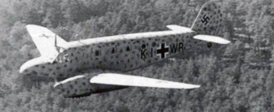 Caudron C-445 utilisé par la Luftwaffe © inconnu