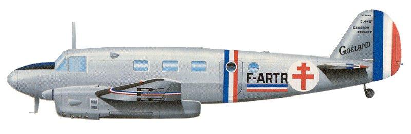 Goéland Caudron C-445M © Inconnu