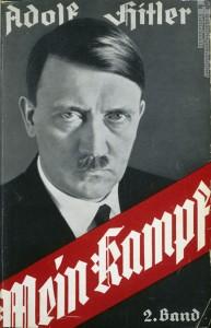 """Mein Kampf"" mit Portr""tfoto"