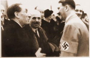 Louis Renault et Adolf Hitler en 1935