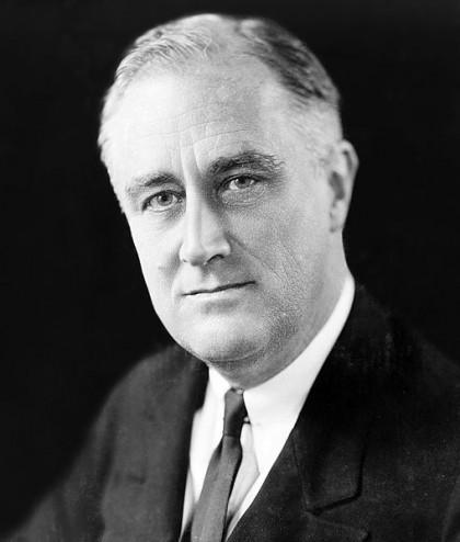 Le président Franklin Delano Roosevelt