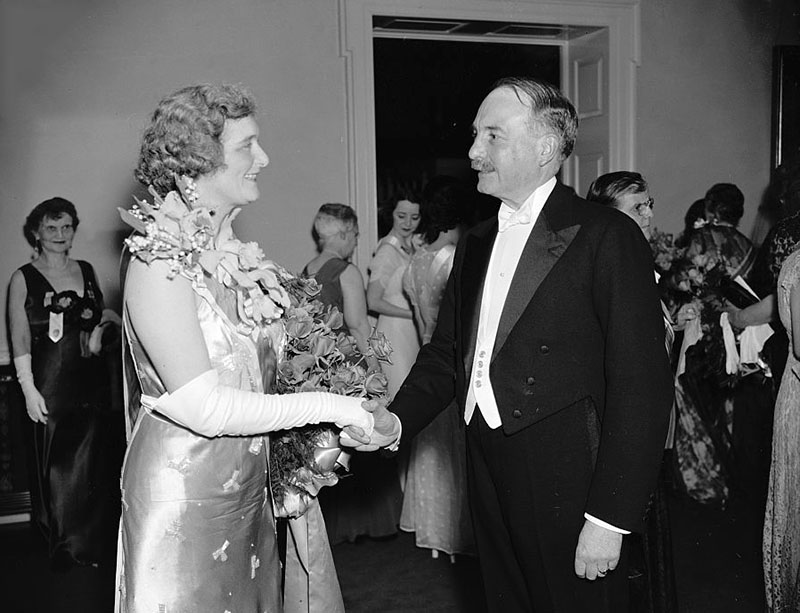 L'amabassadeur de France à Washington, René de Saint-Quentin, en avril 1937 © Library of Congress
