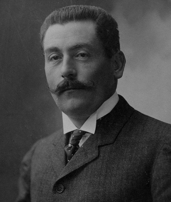 Alfred, le père de Louis Renault © APR/Renault-Histoire