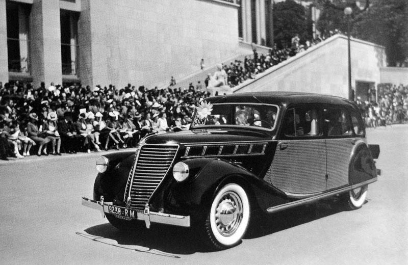 Figure 16: Suprastella limousine 1939 © SHGR/Renault