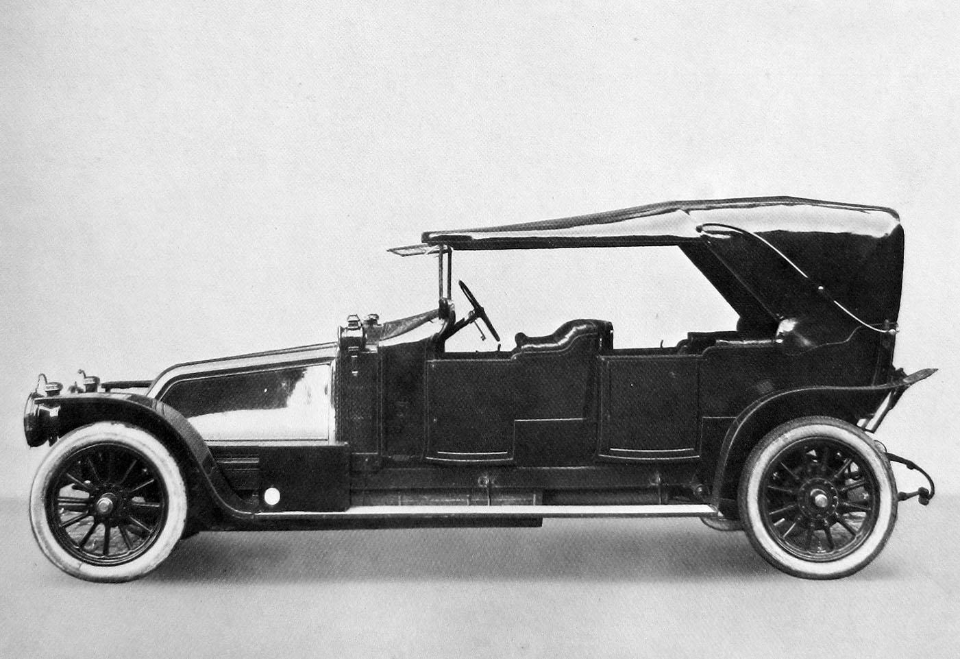 Figure.3: La CG de 1912 qui prend le nom de 40 CV © SHGR/Renault