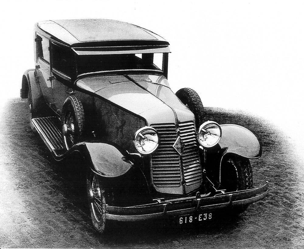 Figure.7: Une des premières Reinastella © SHGR/Renault