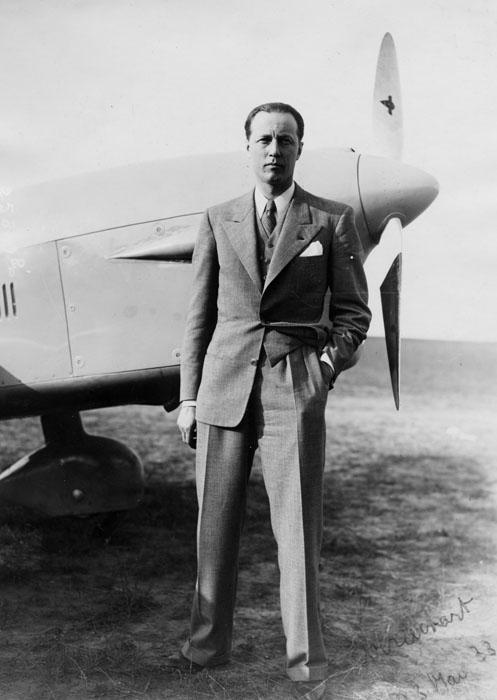 Le pilote Ludovic Arrachart décédé le 23 mai 1933 © APR/Renault-Histoire