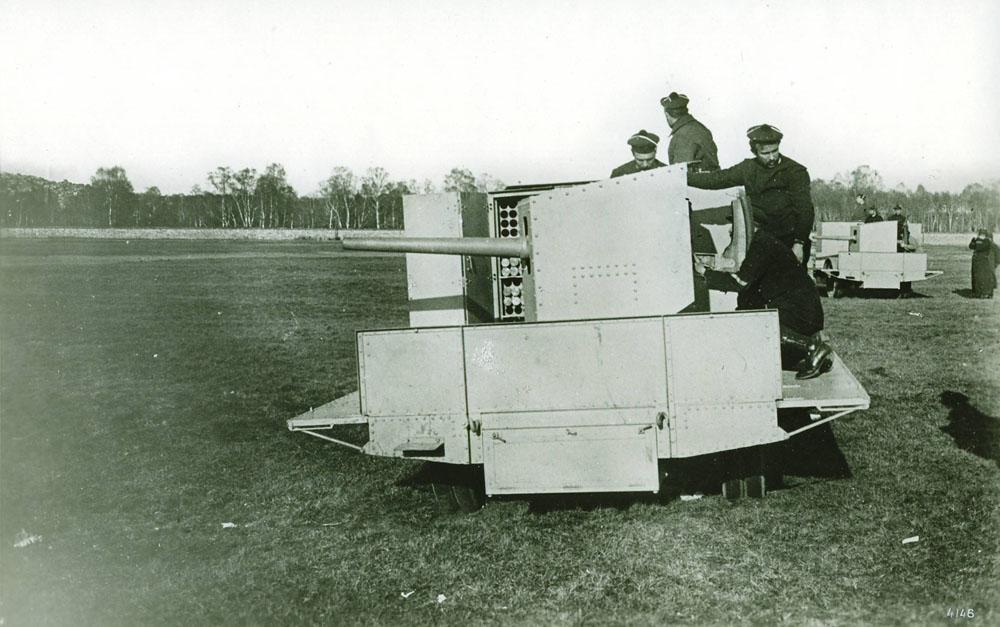Auto-canon de 37 mm - 1915 © APR Droits réservés
