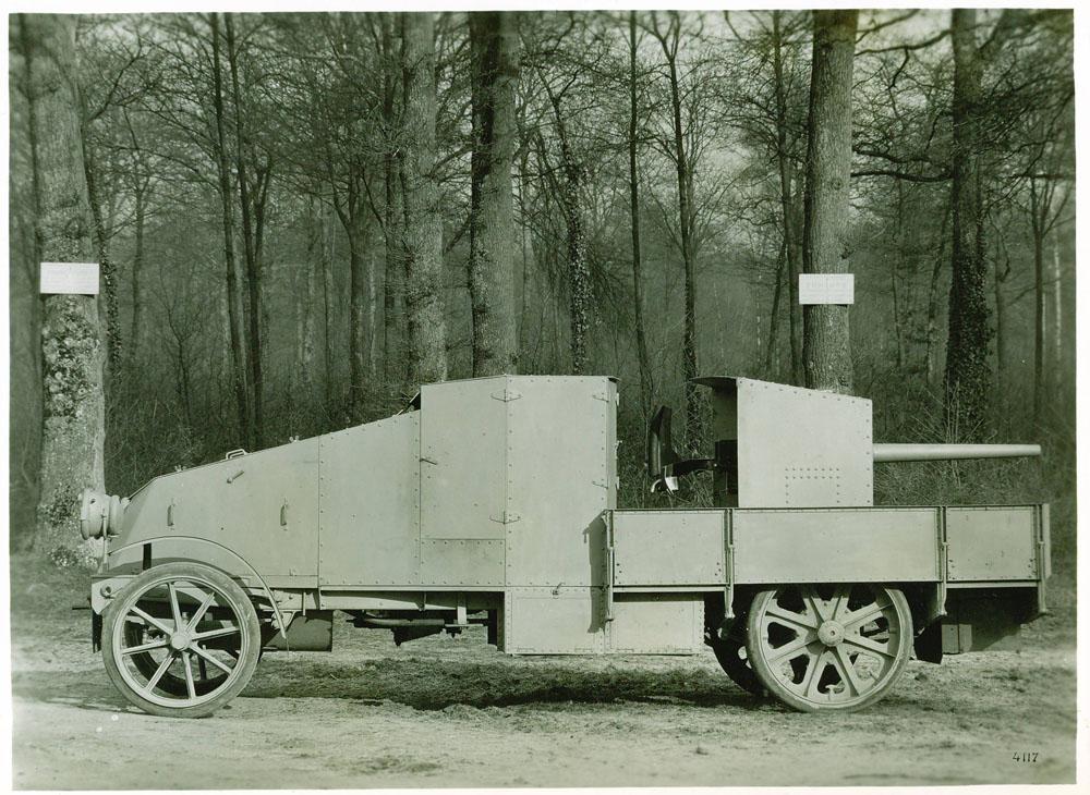Auto-canon de 37 - 1915 © APR Droits réservés