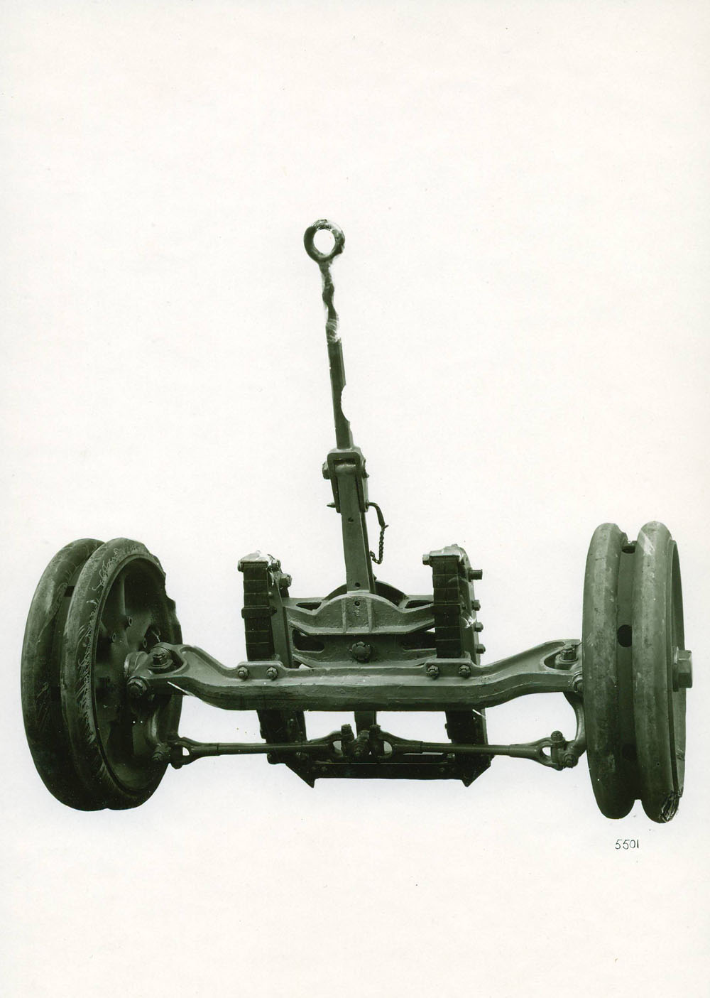 Avant-train de matériel 155 G.P.F. - 1917 © APR Droits réservés