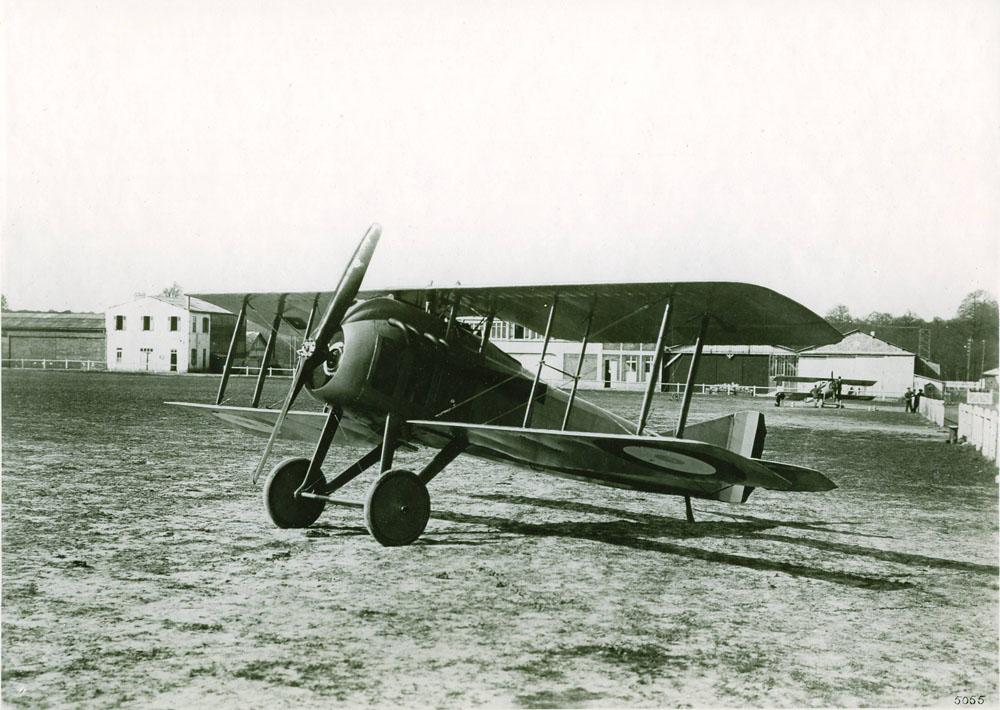Avion Spad-Renault 190 cv - 1917 © APR Droits réservés