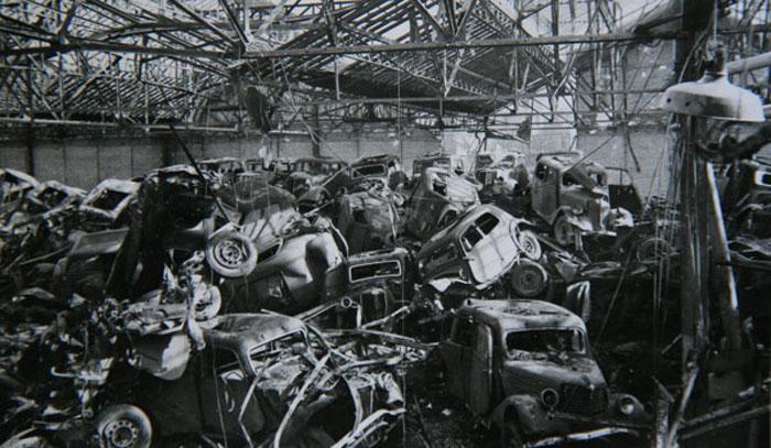 Usines Renault - Bombardement du 3 mars 1942 © APR Droits réservés