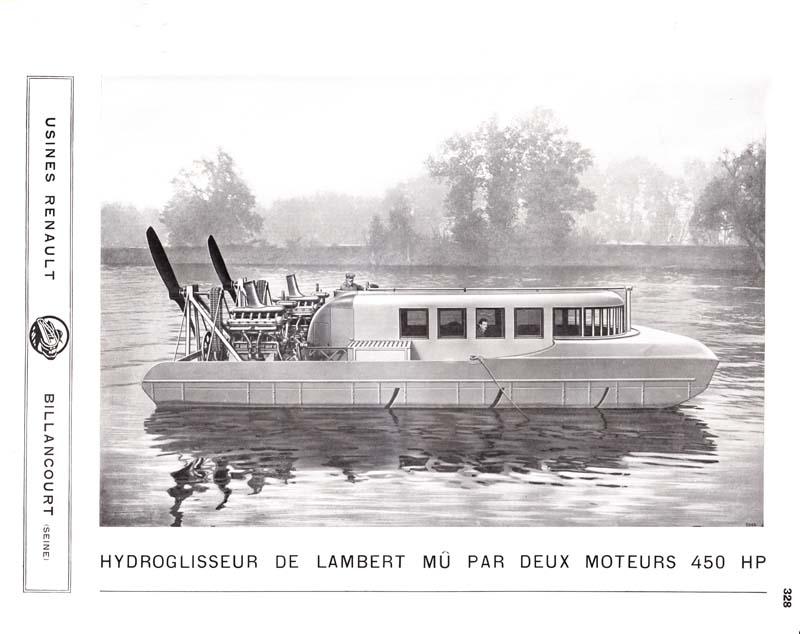 Hydro-glisseur de Lambert, avion Breguet 17 C2 et hydravion Farman © APR - Droits réservés