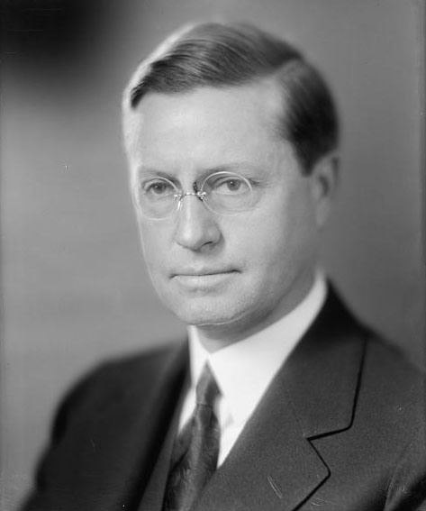 Roy Dikeman Chapin (1888-1936) industriel, constructeur automobile et Secrétaire d'Etat au Commerce dans l'administration Hoover © Library of Congress - Washington DC