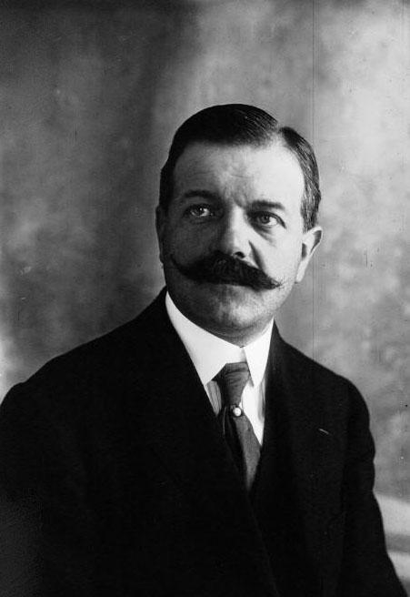 Monsieur le Baron Petiet, Président de la chambre syndicale de l'automobile : [photographie de presse] / Agence Meurisse - 1919 © BNF