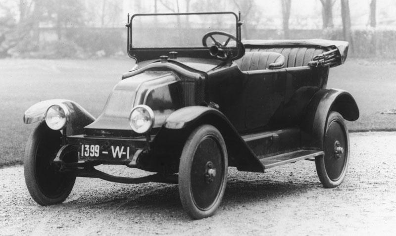 La 10 cv type GS en 1919 © Renault Histoire