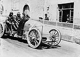 Figure 18 : La 90 cv au Grand Prix d'Auvergne - 1905 © SHGR Tous droits réservés.