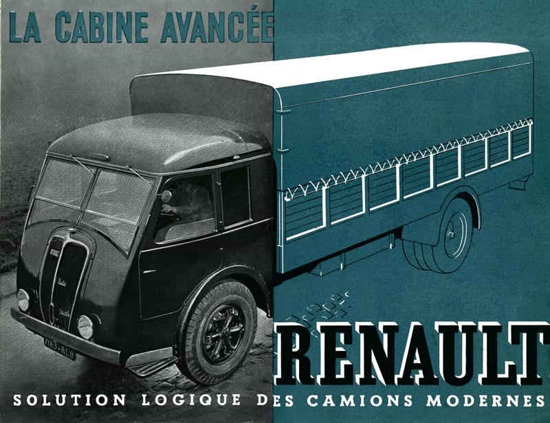 Publicité camions Renault © Renault Histoire