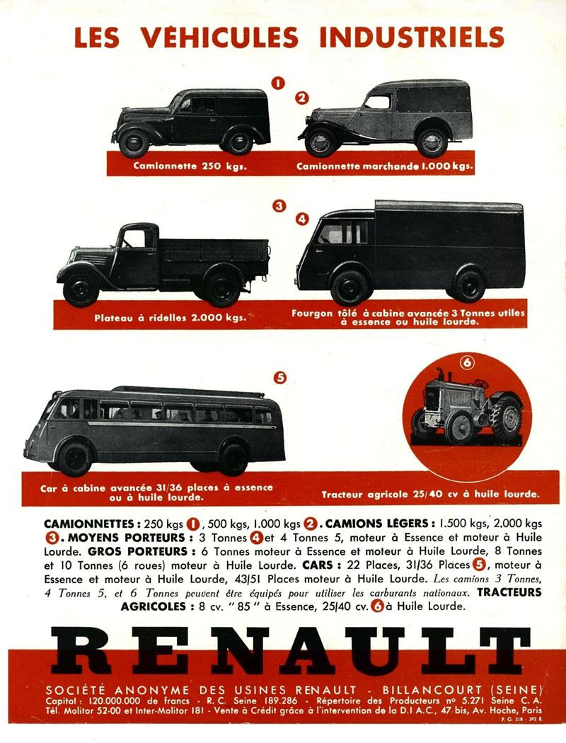 Affiche véhicules industriels Renault © Renault Histoire