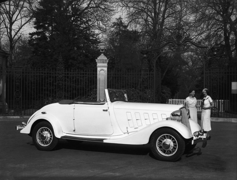 Cabriolet Nervasport type ZC2 © Renault Histoire