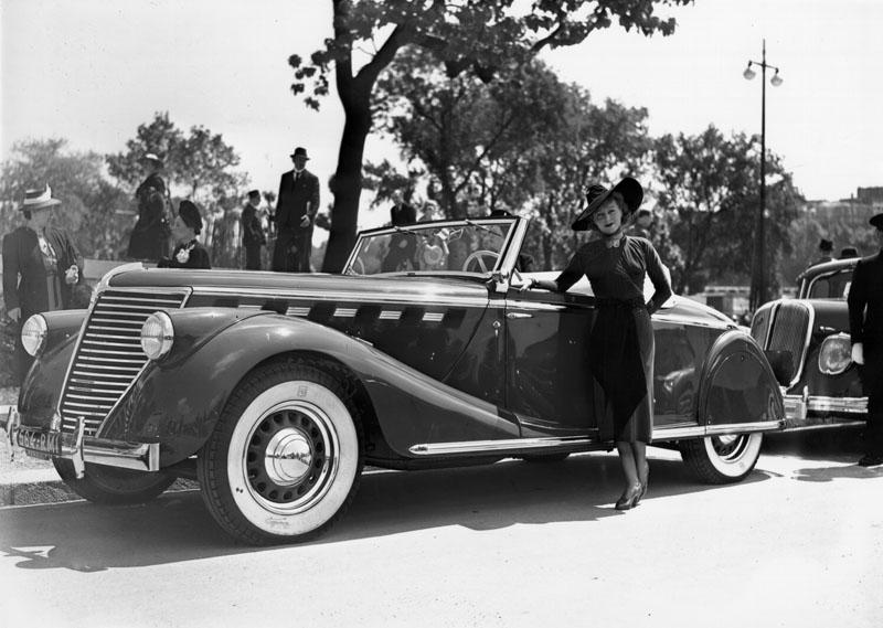 Cabriolet Suprastella type ABM8 © Renault Histoire