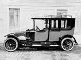 Figure 25 : Limousine sur châssis type CF 35 cv © SHGR Tous droits réservés.