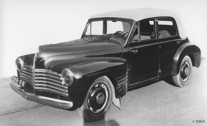 Prototype de la 11 cv © Renault Histoire