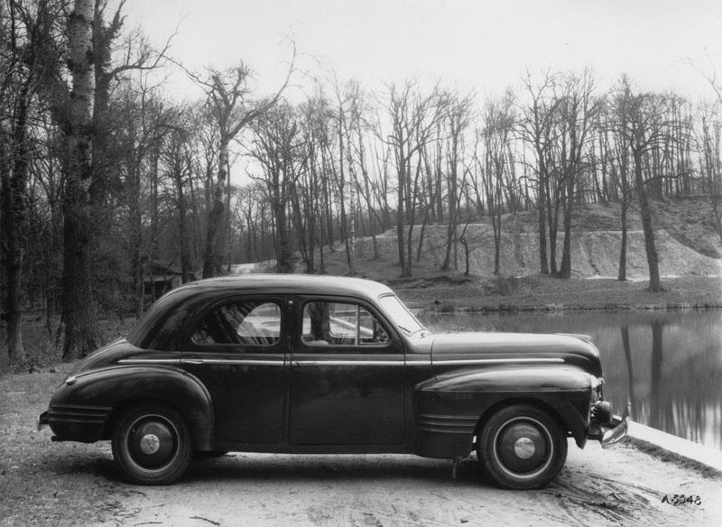 Prototype de la 14 cv © Renault Histoire