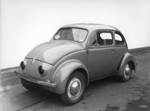 Prototype n°1 de la 4 cv © Renault Histoire
