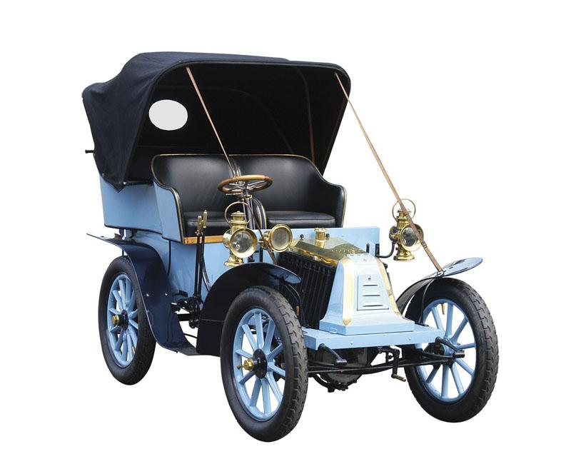 Type G, monocylindre, 1902 © Renault Histoire