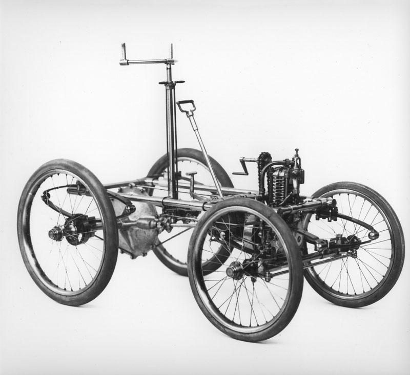 Châssis de la voiturette © Renault Histoire