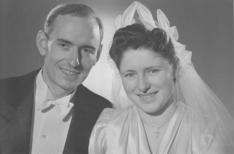 Kathleen et son mari, Paul Marchal, en avril 1943 © Kathleen Marchal-Crenshaw - Tous droits réservés