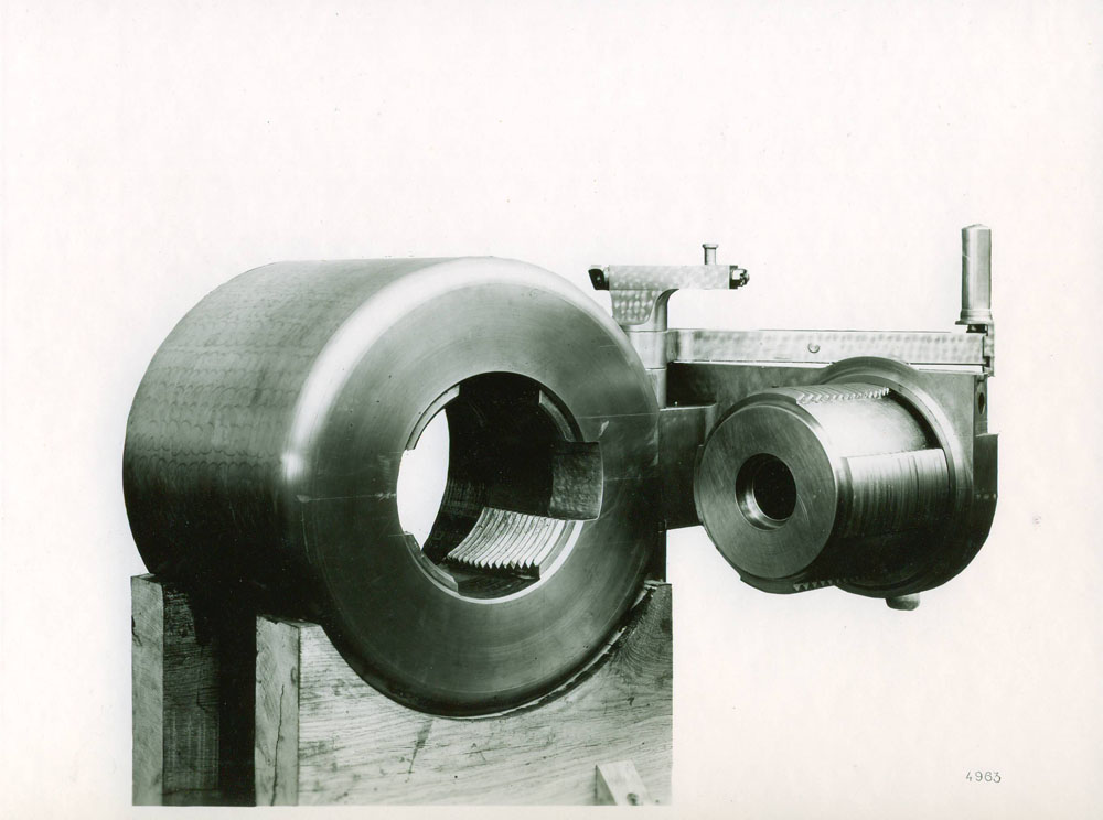 Culasse de 155 G.P.F. - 1917 © APR Droits réservés
