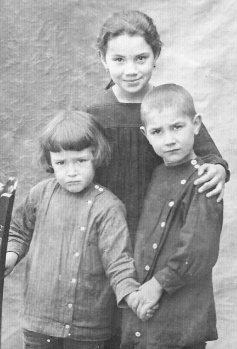 Irène, Robert et Maurice Desmond © Archives privées Desmond - Droits réservés