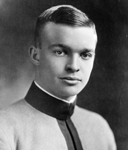 Dwight D. Einsenhower, alors cadet à West Point - photo 64-173-2 U.S. Army - public domain