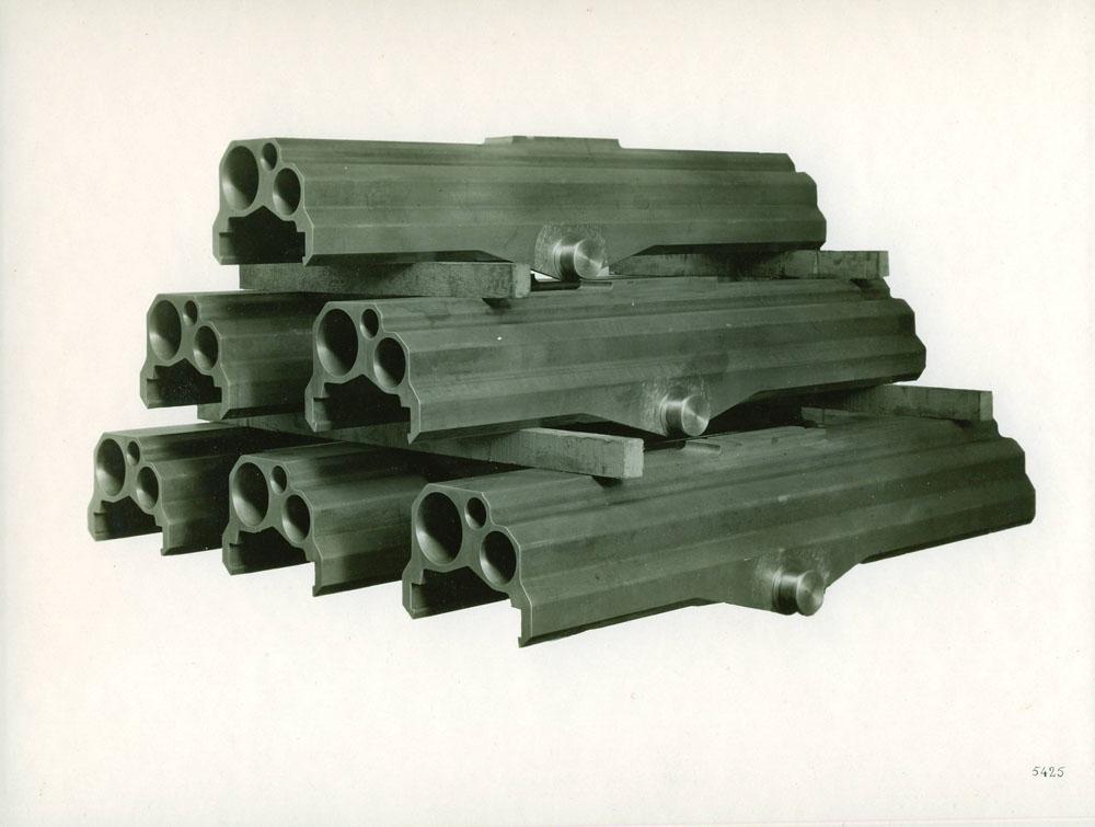 Glissières de 155 G.P.F. - 1917 © APR Droits réservés