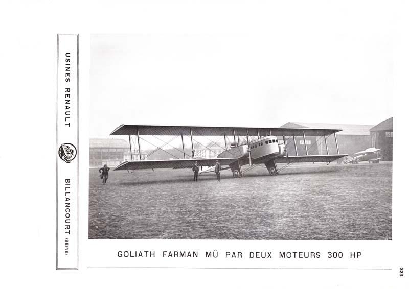 Goliath Farman mû par deux moteurs 300 HP © APR - Droits réservés