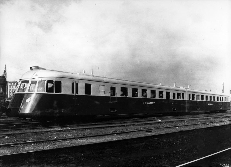 Autorail double ABV prototype – 1935 © Renault communication / PHOTOGRAPHE INCONNU (PHOTOGRAPHER UNKNOWN) DROITS RESERVES