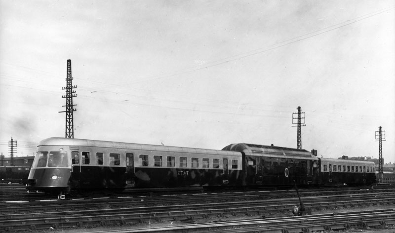 Autorail triple ABL – 1936 © Renault communication / PHOTOGRAPHE INCONNU (PHOTOGRAPHER UNKNOWN) DROITS RESERVES