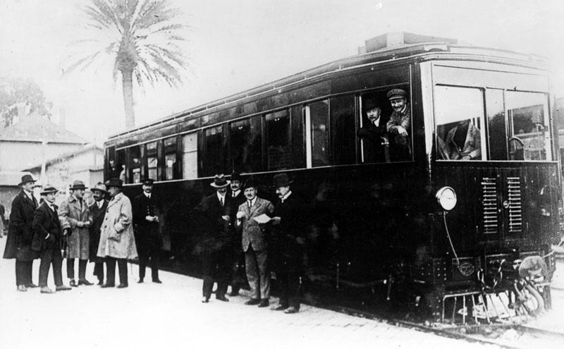 Automotrice type KF en service en Tunisie en 1925 © SHGR
