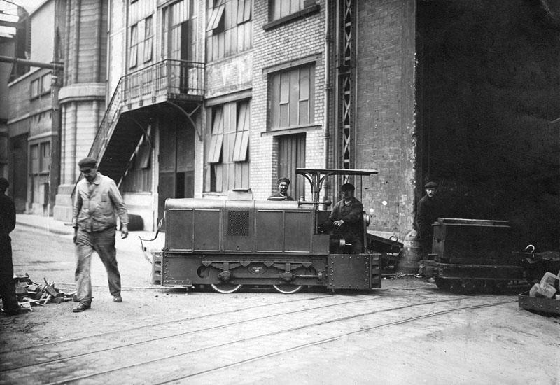 Locotracteur type MO en service dans l'usine © SHGR