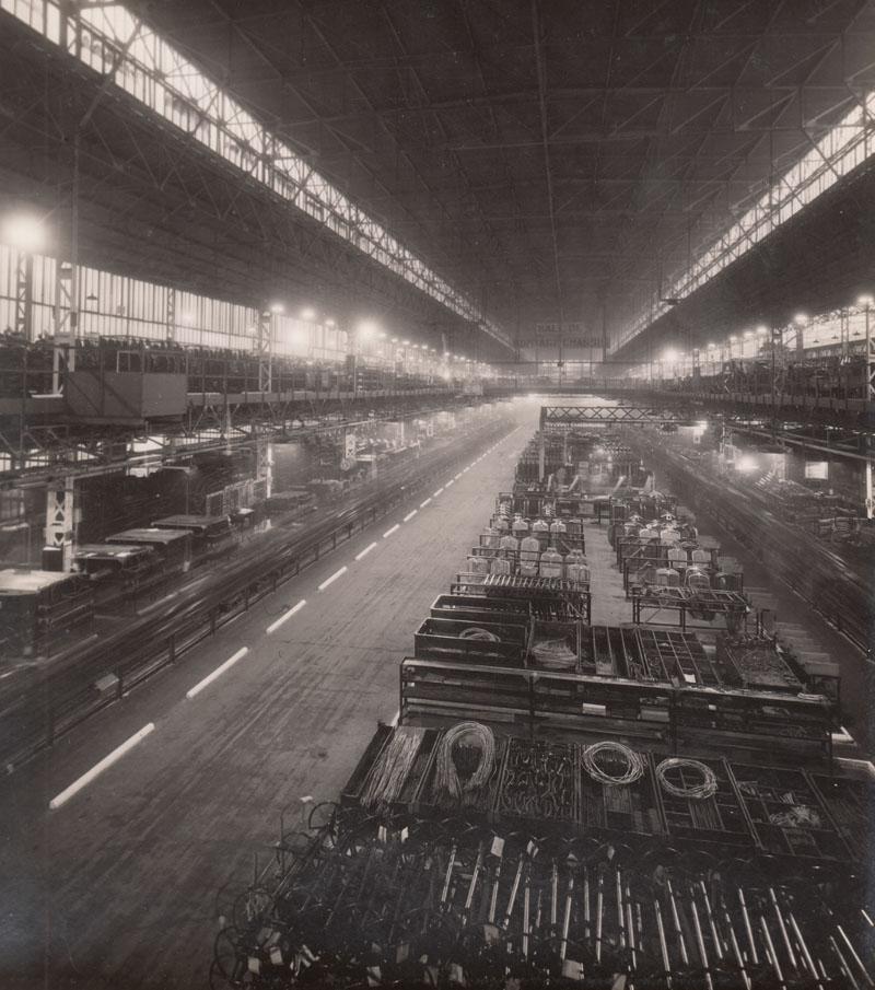Chassis assembly line © Archives privées Guillelmon - Tous droits réservés