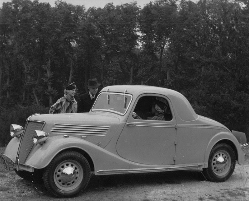 Primaquatre coupé © Archives privées Guillelmon - Tous droits réservés
