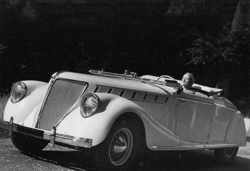 Nerva Grand Sport ABM7 de 1937 © Archives privées Guillelmon - Tous droits réservés