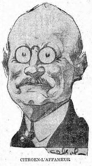 Citroën-l'affameur, L'Humanité du 22 avril 1927