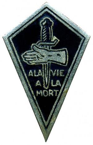 Insigne du Bataillon SAS Ponchardier (1945-1946)