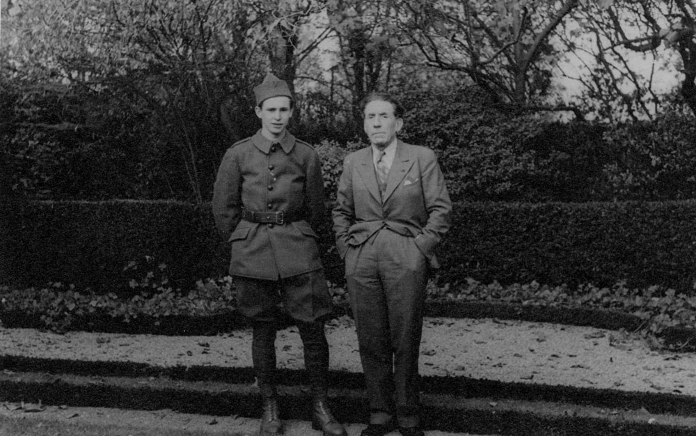 Louis et Jean-Louis Renault en 1939 © APR - Droits réservés