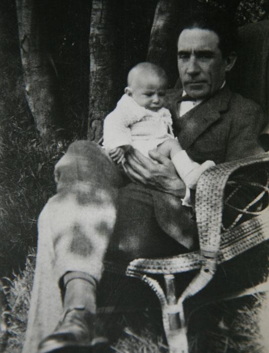 Louis Renault et son fils Jean-Louis - 1920 © SHGR/Renault-Histoire