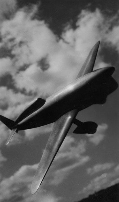 Maquette d'un avion Caudron © SHGR/Renault-Histoire